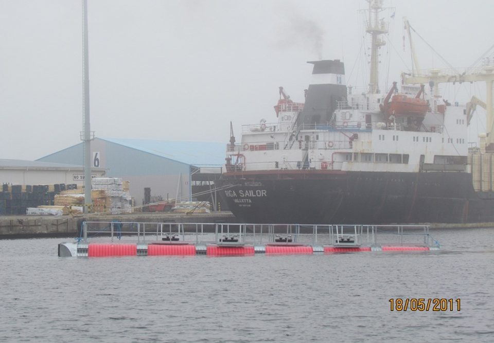 Oil Recovery Tanks of the Ship Size-16