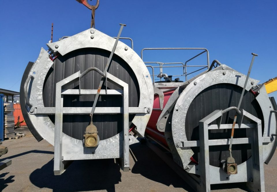 Oil Recovery Tanks of Small Craft Class-2